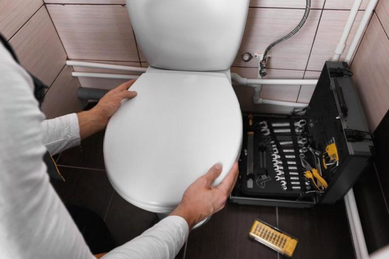 How to Tighten Toilet Seat With No Access Underside